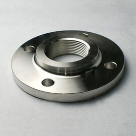 SMO 254 Threaded Flanges